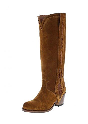 Slippers Tabaco Femme Hi Boots Sendra top Serraje Z7YwBvnxq