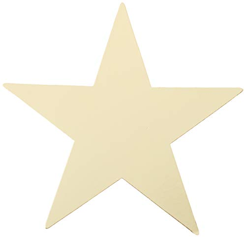 - amscan Foil Star Cutouts - Gold