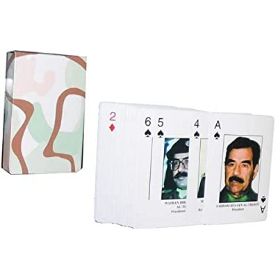 Iraqi 'Most Wanted' Playing Card Deck: Sports & Outdoors