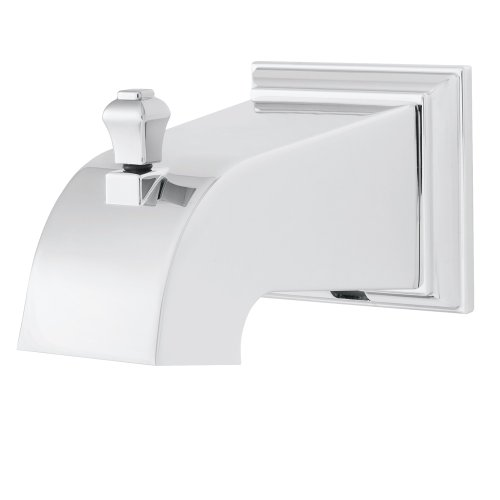 Speakman S-1564 RainierSquare Diverter Tub Spout, Polished Chrome - Speakman Chrome Tub