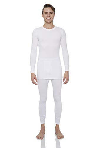 Rocky Thermal Underwear for Men Midweight Fleece Lined Thermals Men