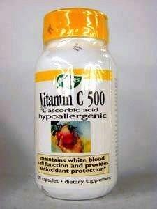 Nature'S Way Vit C 500 W/Bioflavs 100 Cap
