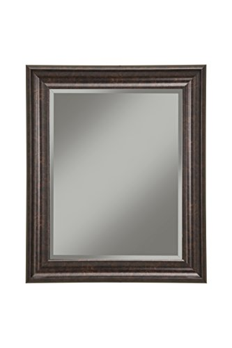 Sandberg Furniture Oil Rubbed Bronze Wall Mirror, 36