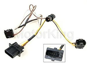 amazon com b360 2108203761 99 03 mercedes w210 headlight wire Headlight Bulb Wiring -Diagram  headlight wiring harness for 2010 dodge ram 1500 1947 Chevy Truck Wiring Headlight Wiring Harness Replacement