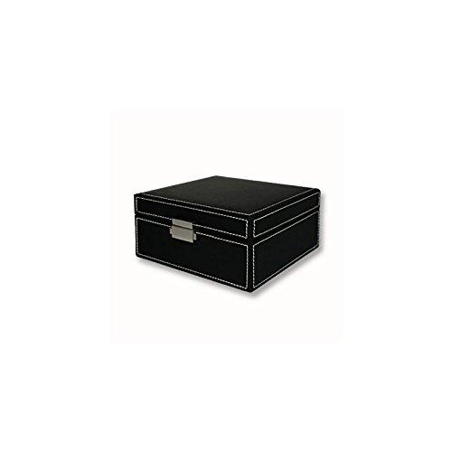 uhrenbox uhrenschatulle aufbewahrung f r 6 uhren. Black Bedroom Furniture Sets. Home Design Ideas