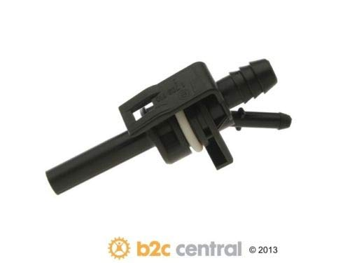 Engine Crankcase Breather Connector Genuine fits 92-95 BMW 325i 2.5L-L6 ()