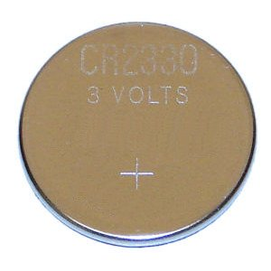 Nuon 02330 - CR2330 3 Volt Lithium Button Cell Watch / Garage Door / Calculator / Medical Battery (CR2330)