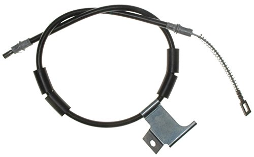 Brake Emergency Cherokee Grand Jeep - ACDelco 18P2707 Professional Rear Driver Side Parking Brake Cable Assembly