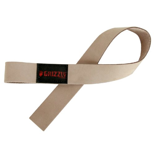 Grizzly Fitness Leather Lifting Straps product image