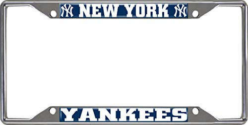- FANMATS MLB - New York Yankees License Plate Frame