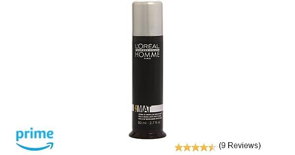 LOréal Professionnel Homme - Mat 4 - Crema de modelado matificante - 80 ml: Amazon.es: Belleza