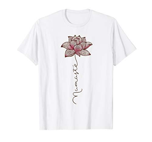 Namaste Mandala Lotus Love Yoga T-Shirt ()