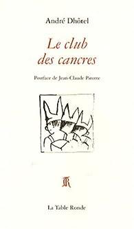 Le club des cancres par André Dhôtel