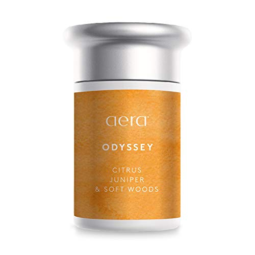 Odyssey Scented Home Fragrance, Hypoallergenic Formula With Notes of Citrus, Juniper, Soft Woods - Schedule Using App With Aera Smart 2.0 Diffusers - State Of The Art Air Freshener Technology