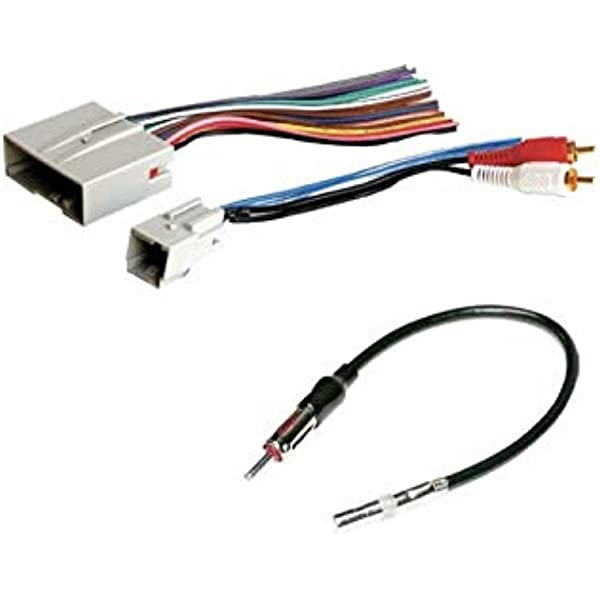 Amazon.com: ASC Audio Car Stereo Wire Harness and Antenna Adapter to Install  an Aftermarket Radio for Some Ford Lincoln Mazda Mercury Vehicles-  Important-- Compatible Vehicles Listed Below: Car Electronics | Window Antenna To Aftermarket Radio Wiring |  | Amazon.com