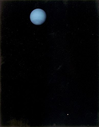 Poster A3 NASA Neptune and Triton This image was returned by the Voyager 2