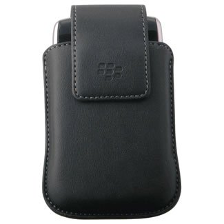 New Blackberry Rim 33260lrp Hdw-19869-001 Synthetic Leather Pouch/Holster With Swivel ()
