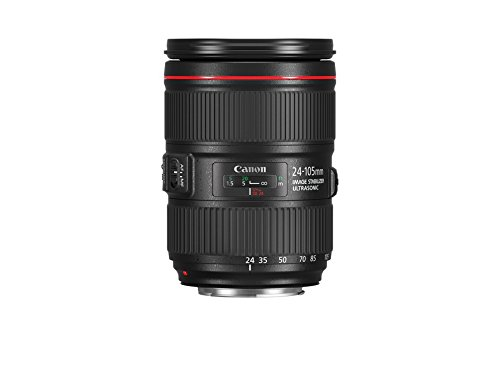 Canon ZOOM LENS EF24-105mm F4L IS II USM - White Box (New) (Bulk Packaging) by Canon