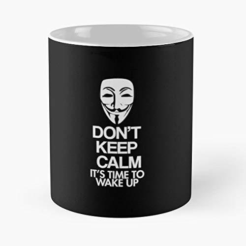 Keep Calm Dont Halloween Thanksgiving - Morning Coffee Mug Ceramic Novelty Holiday -