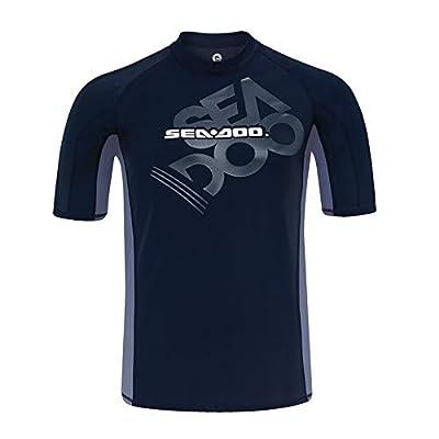 B R P Sea-Doo Short Sleeve Rashguard: Clothing