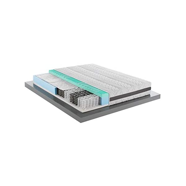 Mentor - Materasso Molle & Memory Med Matrimoniale 160x190 Biotech Med 3D Green DISP. Medico DETRAIBILE 5 cm di Memory… 1 spesavip