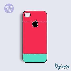 iPhone 6 Plus Tough Case - 5.5 inch model - Pink Blue Design iPhone Cover