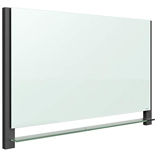 Quartet Glass Whiteboard, Magnetic Dry Erase White Board, 85