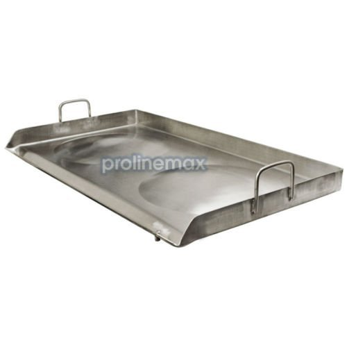 31'' x 17'' Stainless Steel CONVEX Comal Griddle Plancha Grill Double Stove by Generic