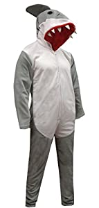 Discovery Channel Shark Week Shark Union Suit Pajama for men