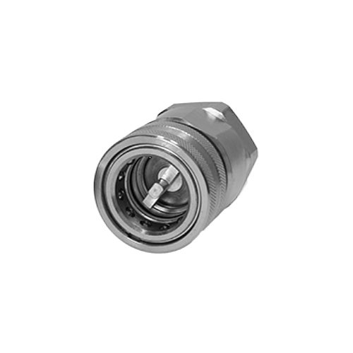 Guided Poppet HTN Series 2.2 ID 2176 PSI Max Working Pressure 5075 PSI Burst Pressure Holmbury HTN32-F-20N General Purpose Poppet Style Coupler 1.25 1-1//4 NPT Female Thread 2.2 ID 1.25 Holmbury Inc 1-1//4 NPT Female Thread