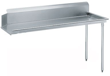 Advance Tabco DTC-S60-48L-X Prepackaged Dishtable Clean Table, Right to Left Flow, 4 ft. Width