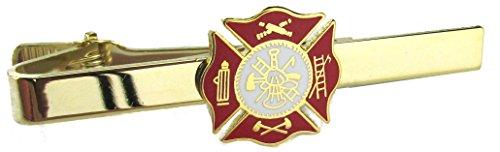 Fire Department Insignia Tie Bar - Fireman's Tie Clasp