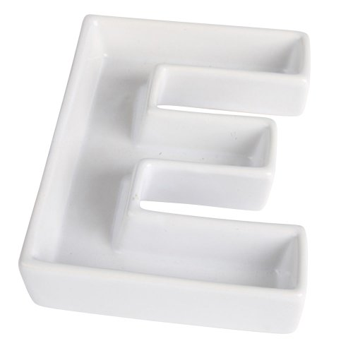 Ivy Lane Design Ceramic Greek Alphabet Dish, Epsilon (Candy Dishes compare prices)