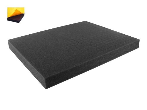 FS030RS-Bundle 30 mm (1,2 Inch) customizable Pick Pluck Foam for all kind of using self-adhesive with separate bottom