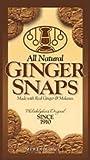 All Natural Ginger Snaps