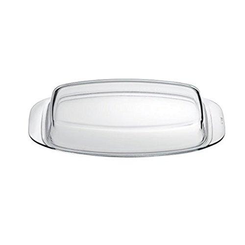 Jena 33 x 22 cm tapa de cristal, apto para horno hasta 260 °C ...