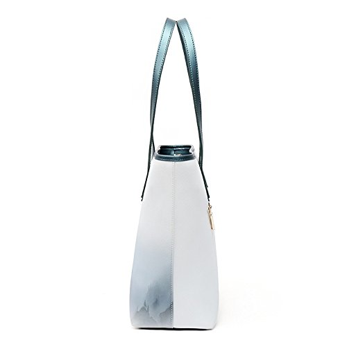 main à Sac Rétro bandoulière Mode original sac Todt Sac Grand LEODIKA à unique A Nouveau blanc Aw4xn7