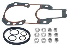 MERCRUISER ALPHA GEN II OUTDRIVE MOUNTING GASKET SET COMPLETE WITH S.S. NUTS AND (Mercruiser Outdrive Mounting)