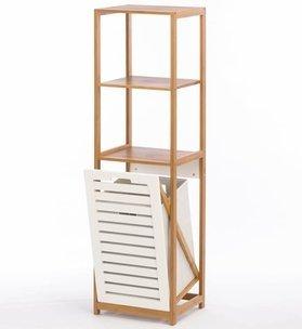 Smart Living Company 10016086 Bamboo Hamper Shelf by Smart Living