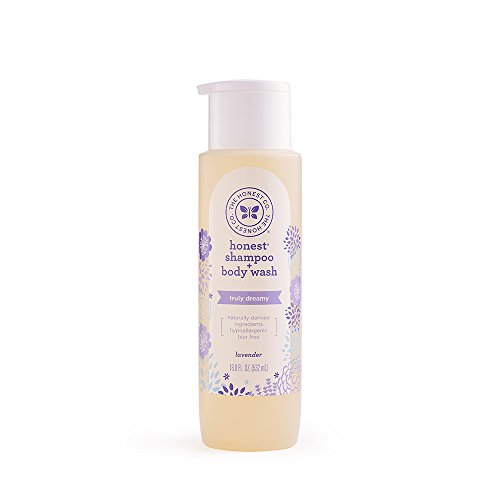 The Honest Company Ultra Dreamy Calming Lavender Shampoo and Body Wash, Dreamy Lavender, 18 Fluid Ounce