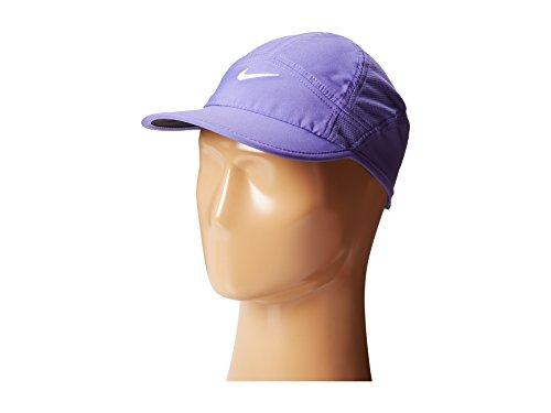 NIKE Womens Featherlight 2.0 Cap Purple Haze Black White One Size  (B00H4KJS16)  e91b39b5a66