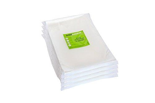 200 Quart x 12 Inch Sealer Food saver, Seal a Meal Vac Freezer Storage & Sous Vide Vaccume BPA Free Jumbo Bag