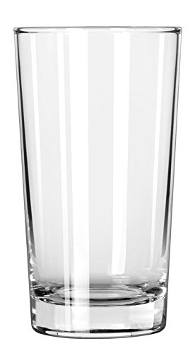 - Libbey Glassware 132 Heavy Base Hi-Ball Glass, 8 oz. (Pack of 48)