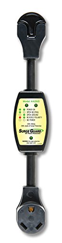 RV Trailer Camper Electrical Surge Guard Surge Protector Portable 30A (30a Rv Surge Protector)