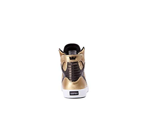 Supra Kids Boy's Skytop (Little Kid/Big Kid) Gold/Black/White Athletic Shoe by Supra Kids (Image #1)
