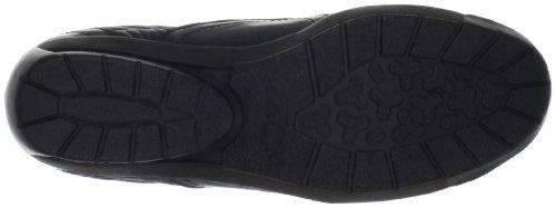 Bella Vita Dames Sigma Slip-on Loafer Zwart Leer Patent