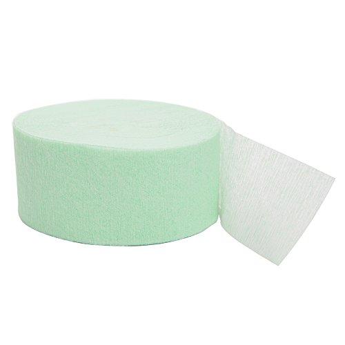 81ft Mint Crepe Paper