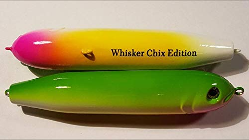 Demon Dragons Lures for Catfish, Striper, Walleye, Bass, Musky and More (Whisker Chix -
