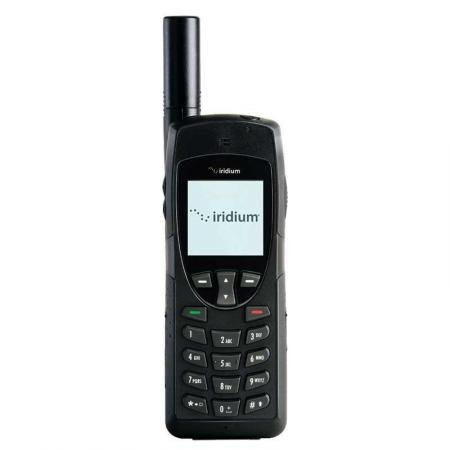 Iridium Phone Satellite - Iridium 9555 Satellite Kit - Factory Unlocked Phone - Retail Packaging (Black)