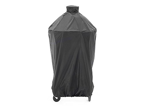 CoverMates – Kamado Full Grill Cover – 34 DIAMETER x 48H – Classic Collection – 2 YR Warranty – Year Around Protection - Black